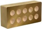 Облицовочный кирпич «Литос» Гладкий пустотелый