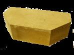 Кирпич облицовочный «Литос» Гладкий двухугловой полнотелый