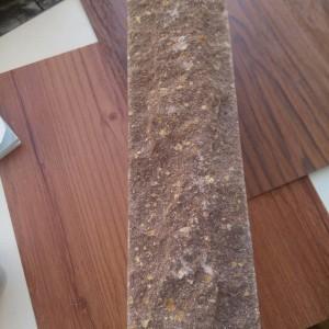 Кирпич рваный камень узкий скала бордо