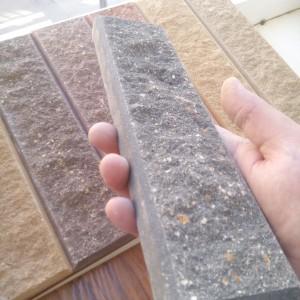 плитка кирпич серый