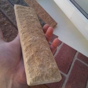 Плитка фасадная скала Литос слоновая кость