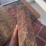плитка под кирпич шоколад